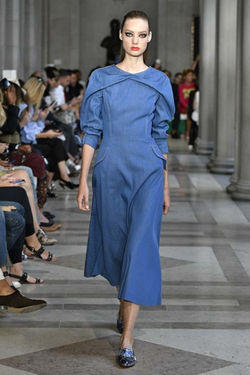 Carolina Herrera New York RTW  Spring Summer 2017 September 2016