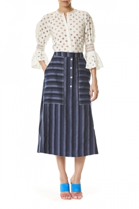 2201SDP_WHITE_3091REJ_NAVY-STRIPE_L